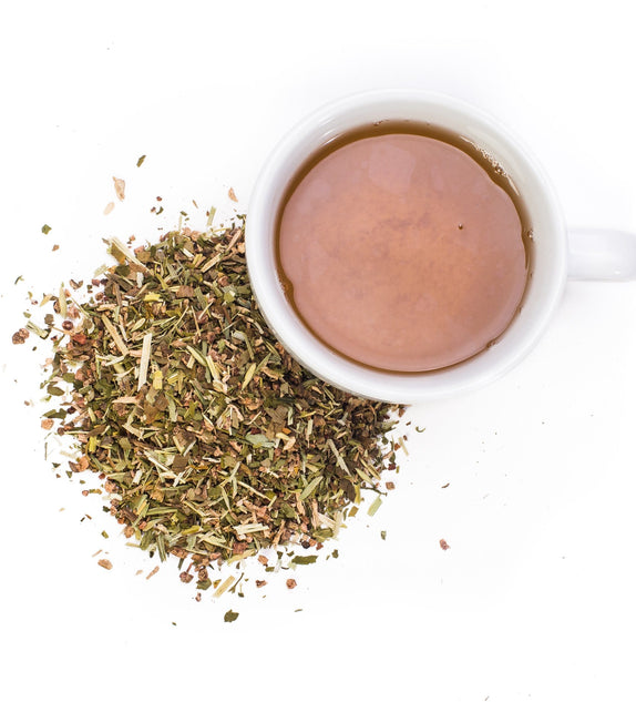 This is a hearty blend of anti anxiety herbs, classic nervines, muscle relaxing herbs, and adaptogens. Incredibly relaxing and soothing. This tea is a great option for anxious moments, over exhaustion or just a warm cup of relaxation!  Flavor profile: Light notes of Cloves  Stress Relief tea is caffeine free making it enjoyable at any time of the day.  Ingredients: Organic Oatstraw, Organic Skullcap, Kava Kava Root, Organic Gingko Leaf, Organic Ashwagandha, Organic Clove.