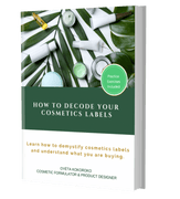 Load image into Gallery viewer, E-Book: How To Decode Your Cosmetics Labels