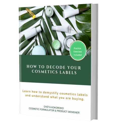 E-Book: How To Decode Your Cosmetics Labels
