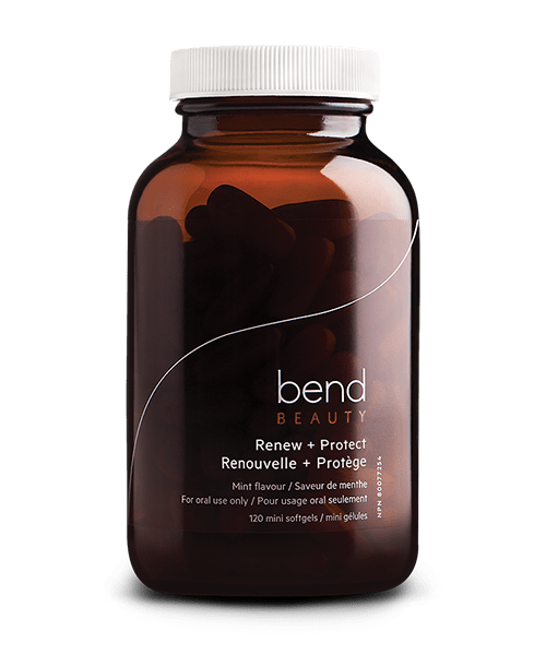 Bend Beauty - RENEW + PROTECT MINI SOFTGELS