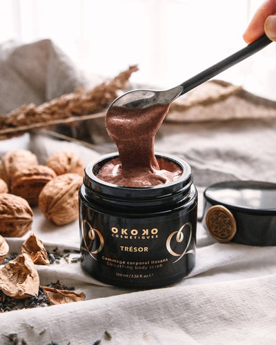 TRÉSOR, by OKOKO (SMOOTHING BODY SCRUB)