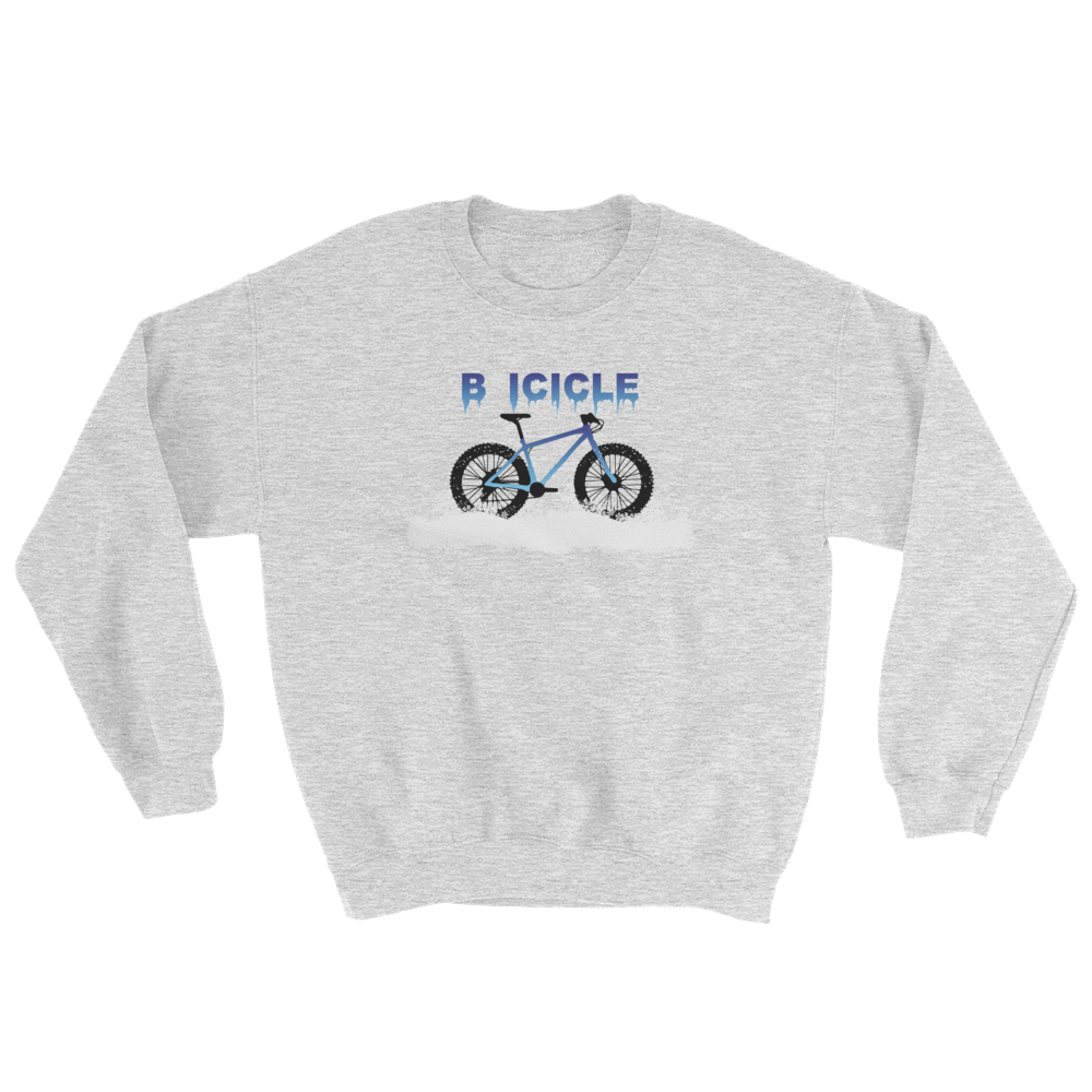 BICICLE Sweatshirt, Unisex crewneck and hooded pullover.