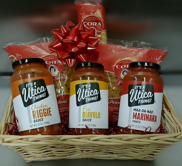 Utica Pasta Dinner Gift Basket