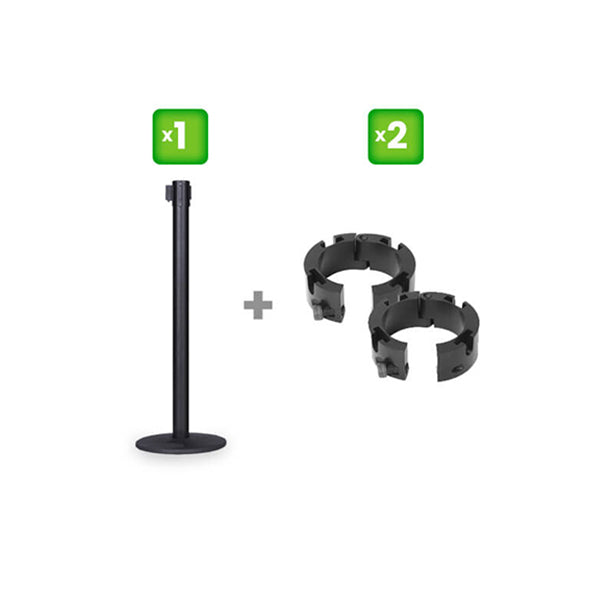 1 Pro Series Stanchion & 2 Collars – Bundle Offer