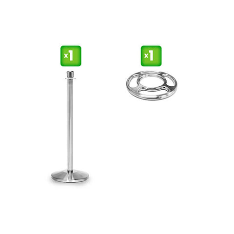 1 Rope Stanchion & 1 Loop Collar – Bundle Offer