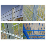 High Security Warehouse Partition Fencing Easily Assembled For Industrial / Commercial Use
