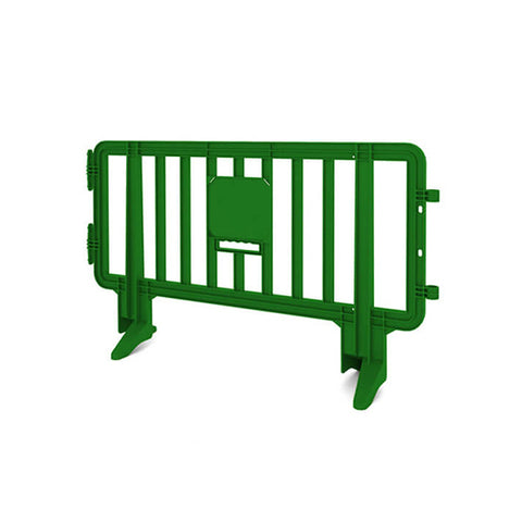 6.5ft Plastic Barricade - Green