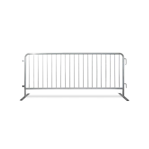 8.5ft Economy Steel Barricade Hot Dipped Galvanized - Crowd Control