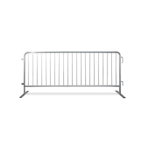 8.5ft Economy Steel Barricade Pre-Galvanized - Crowd Control