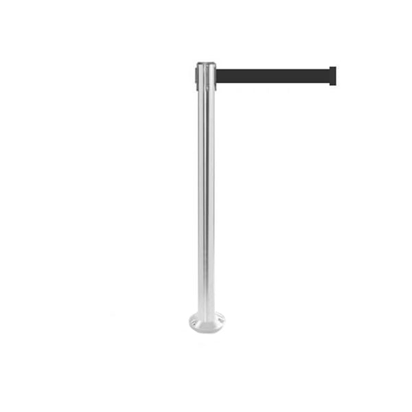 QueuePro 250 Fixed: 11ft Premium Retractable Belt Barrier