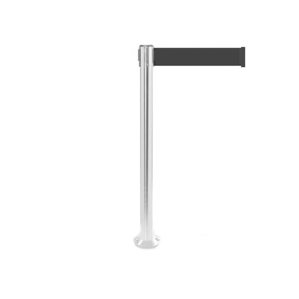 QueuePro 250 Fixed Xtra: 11ft Premium Retractable Belt Barrier