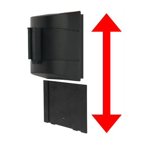 Removeable Wall Plate for Removeable Wall Mounts