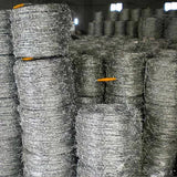 Anti Rust Galvanized Barbed Wire , Military Barbed Wire Convenient Installation