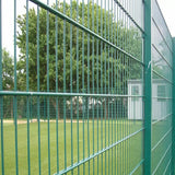 Durable Powder Coated Mesh Panels , 868 High Security Wire Fence Simple Structure