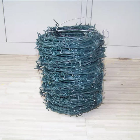 High Tensile Barbed Wire Fence Galvanized Or PVC Coated Surface Treatment