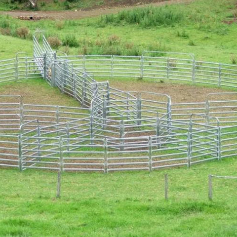 Cattle Yard 6 Rails 42*115mm Galvanize Corral Panel Fence
