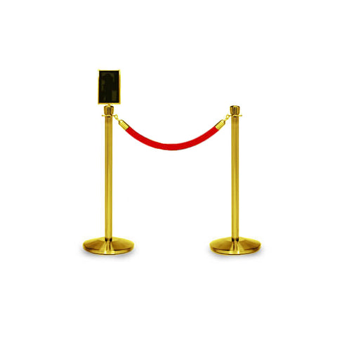 Bundle of 2 Classic Brass Stanchions