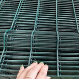 Simple Installation Welded Wire Mesh With Metal / Plastic Clips High Security
