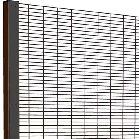 Custom Color 358 Security Fence High Strength Welded Type Long Service Life