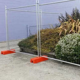 Outdoor Temporary Security Fencing With Anti Rust PVC Coated Surface
