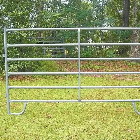Round Pen Cattle 42*115mm Corral Panel Fence For Ranch