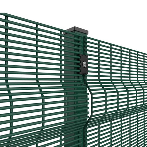 Sustainable 358 Welded Mesh , Galvanized Steel 358 Mesh Panels Easily Assembled