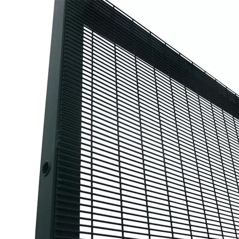 Powder Coated 358 Security Fence 12.7 * 76.2mm*2.1m Eco Friendl Material