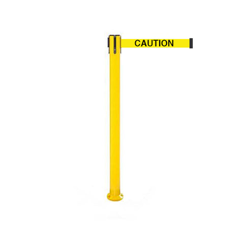 SafetyPro 250 Fixed: 11-13ft Premium Safety Retractable Belt Barrier