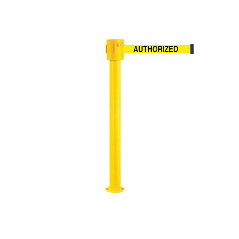 SafetyPro 335 Fixed: 20-35ft Premium Safety Retractable Belt Barrier
