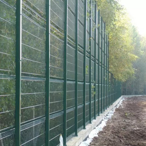 1.5-3m Length 358 Security Fence Hot Dipped Galvanized Surface Treatment Anti Climb
