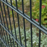 1.8mx2.5m Double Wire Fence With Powder Coated Surface Convenient Installation
