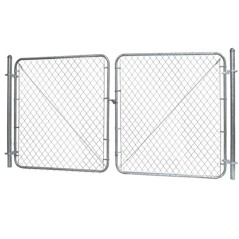 Diamond Pattern Chain Link Security Fence Long Use Life Convenient Installation