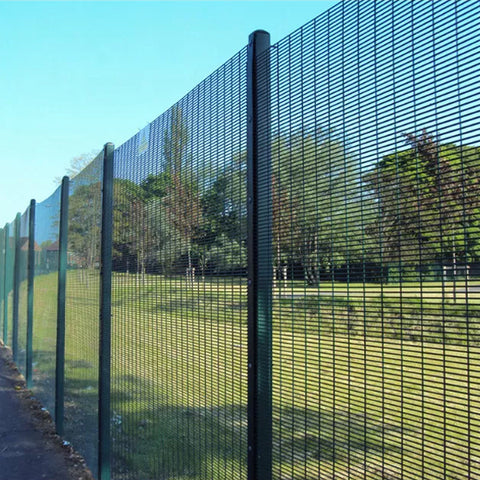 Anti Climb 358 Security Fence PVC Coated Easily Assembled Corrosion Resistant