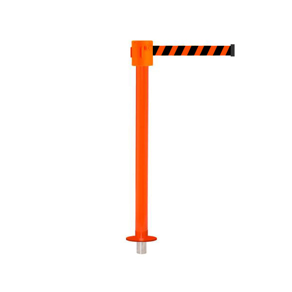 SafetyPro 335 Removeable: 20-35ft Premium Safety Retractable Belt Barrier