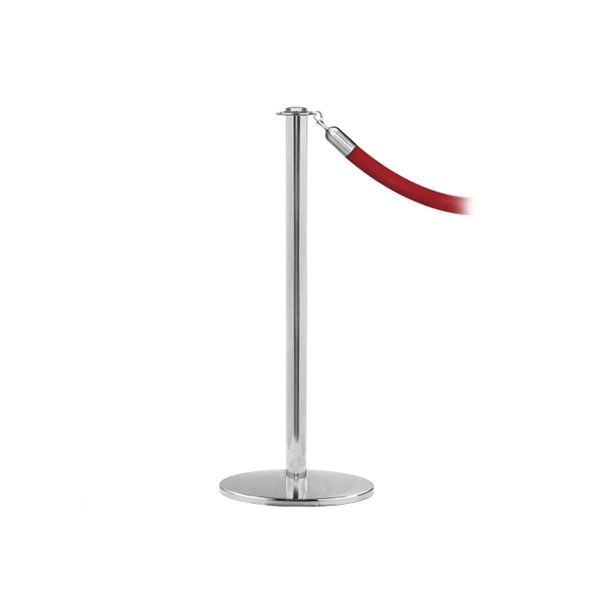 RopeMaster: Premium Flat Top Rope Stanchion With Profile Base