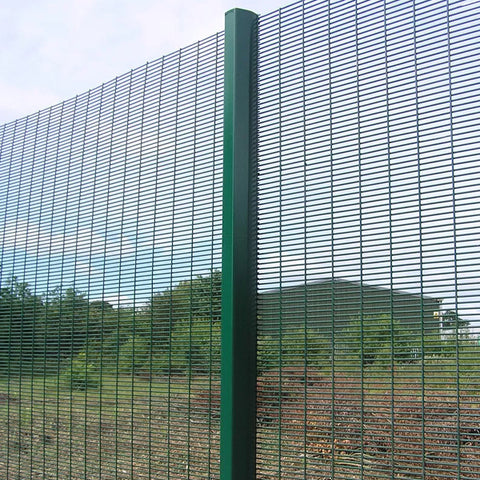 Easily Assembled 358 Security Fence Heavy Duty Type Strong Rust Resistance