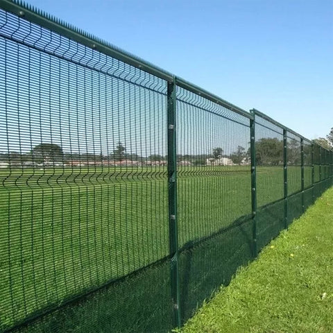 Electric Galvanized Clearvu Fence Panels , Anti Climb 358 Mesh Fencing