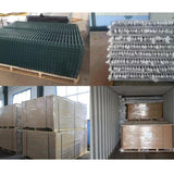 Germany Style Double Wire Fence 2.0m 2.5m 2.9m 3.0m Width Eco Friendly