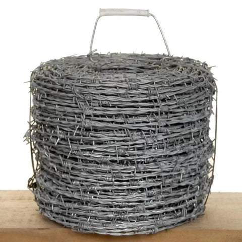 PVC Coated Security Barbed Wire Fencing 800-1200N/Mm2 High Tensile
