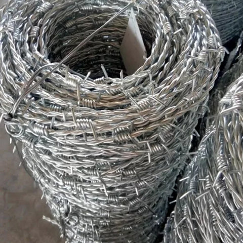 Multipurpose Barbed Wire Fence Free Sample Available High Security
