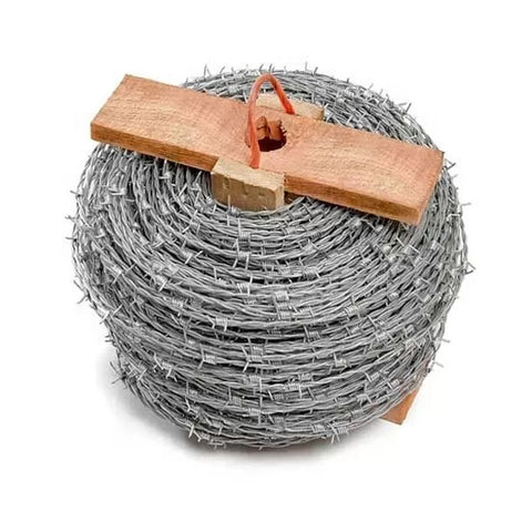 CE Certificate Barbed Wire Security Fence , Hot Dipped Galvanized Razor Wire