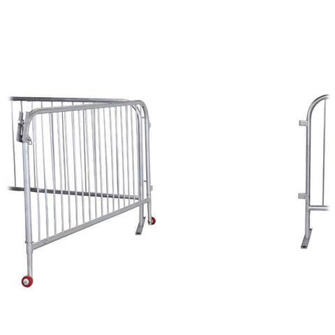 6.5ft Steel Large Barricade Gate