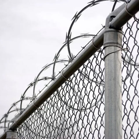 Beautiful Shape Razor Wire Fence Corrosion Resistant Good Deterrent Effects