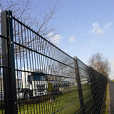 Garden Use Double Wire Mesh Fence , High Strength Steel Mesh Fence Durable