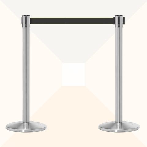 Bundle of 2 Super Value Satin Stainless Stanchions
