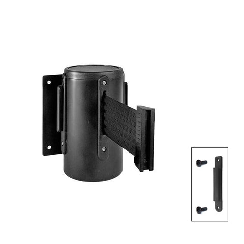 CCD Series: 7.5-10ft Steel Wall Mounted Retractable Belt Barrier