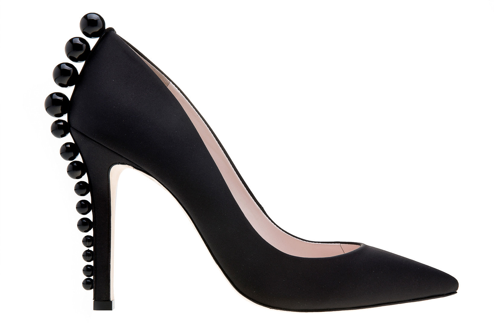 f4f05d4f9aa Iruoma - Black Suede Pump Shoes