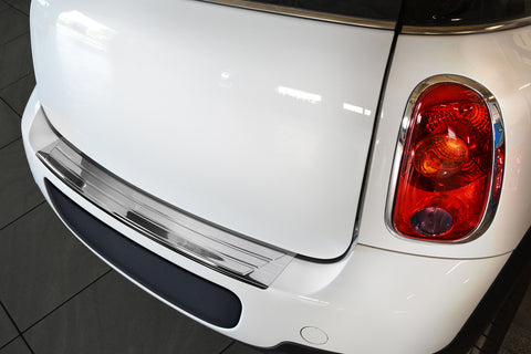 2010-2014 Mini Cooper Countryman R60 - Stainless Steel Rear Bumper Protector