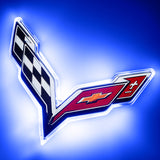 Corvette C7 Illuminated Rear Emblem - ORACLE™ Lighting