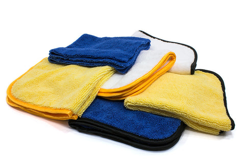 "Elite Ultrafine Mircofiber Detailing Towel - 16""x16"" - 400 gsm"